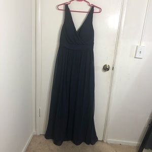 NWT Arianna Papell Criss Cross Back Gown